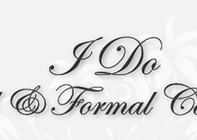 I Do Bridal & Formal Car Hire Logo