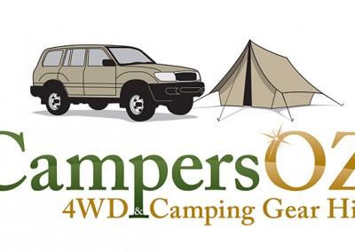 CampersOZ Logo 600 x 600 Final